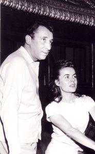 avec Raymond Gérôme en 1962