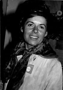 Geneviève Soubirou, fête de l'huma 1976, photo George Kadar
