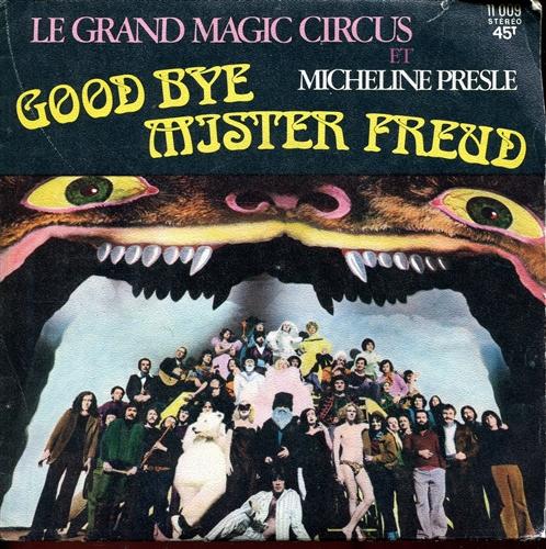 La pochette du disque de la musique de Good Bye Mister Freud, 1973